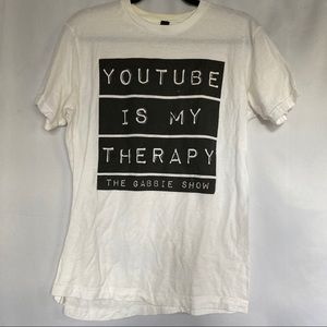 """""""YouTube is My Therapy"""" Gabbie Hanna Merch"""